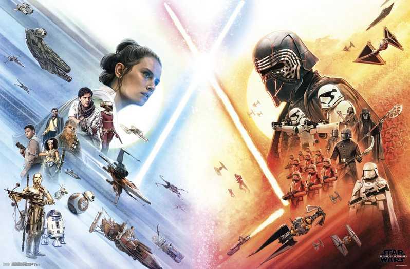 Rey Lightsaber Theory Confirmed as More Rise of Skywalker Promo Art Arrives
